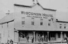Original Wisconsin House bank location.
