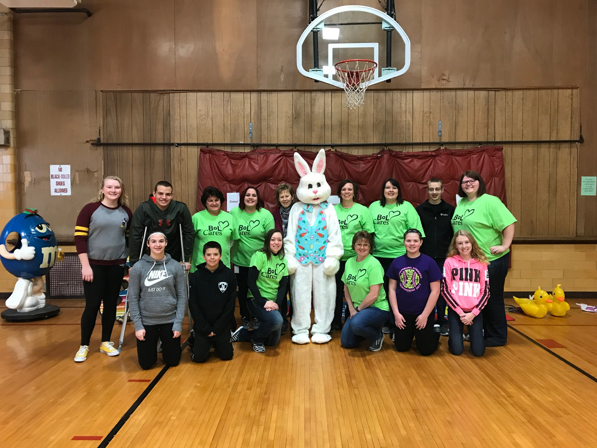 Easter Egg Hunt Volunteers