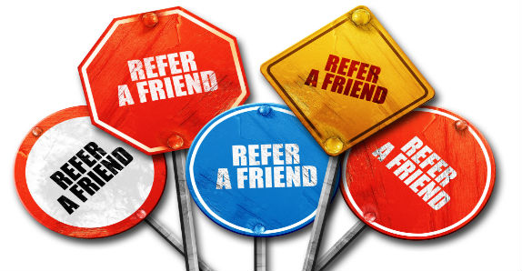 Refer A Friend Words
